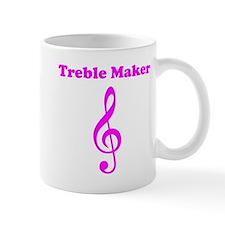 Treble Maker Pink Mug