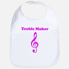 Treble Maker Pink Bib