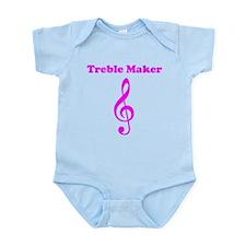 Treble Maker Pink Body Suit