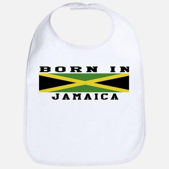 Born In Jamaica Bib