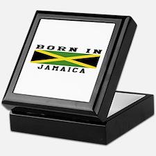 Born In Jamaica Keepsake Box