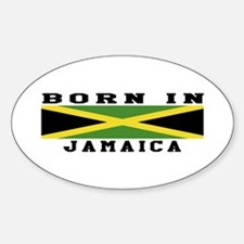 Born In Jamaica Decal