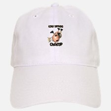 Cow Tipping Champ Baseball Baseball Cap