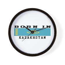 Born In Kazakhstan Wall Clock