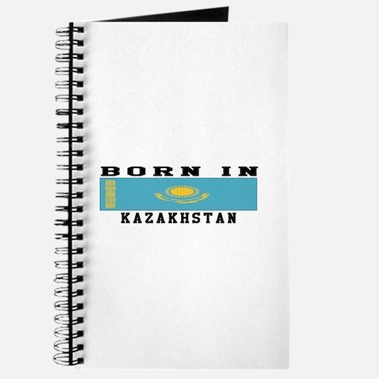 Born In Kazakhstan Journal