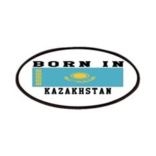 Born In Kazakhstan Patches