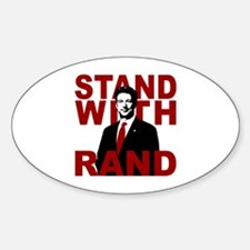 Stand With Rand Sticker (Oval)