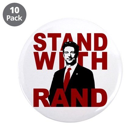 "Stand With Rand 3.5"" Button (10 pack)"