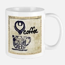 Love Coffee Art Mug