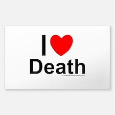 Death Sticker (Rectangle)