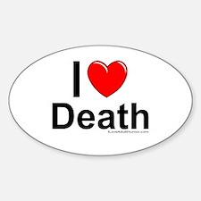 Death Sticker (Oval)