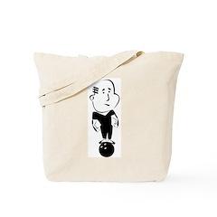 Retro Bowling Tote Bag