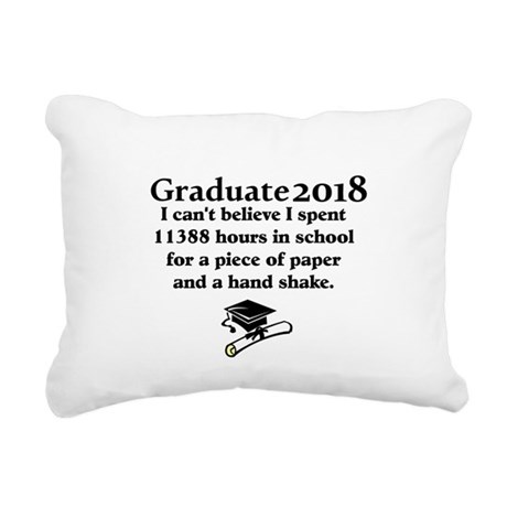 Graduate 2013 Rectangular Canvas Pillow