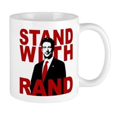 Stand With Rand Small Mug