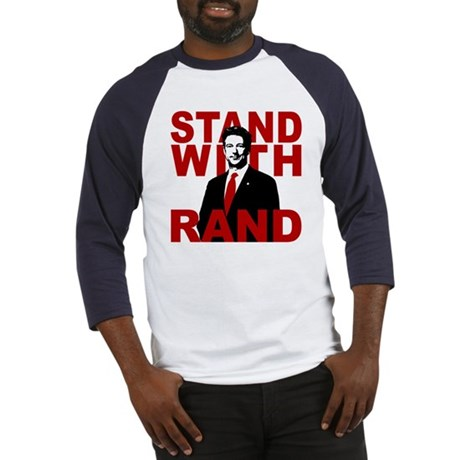 Stand With Rand Baseball Jersey