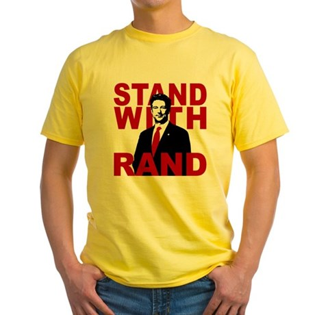 Stand With Rand Yellow T-Shirt
