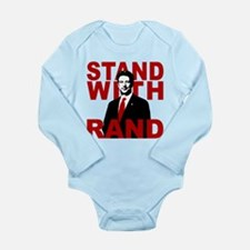 Stand With Rand Long Sleeve Infant Bodysuit