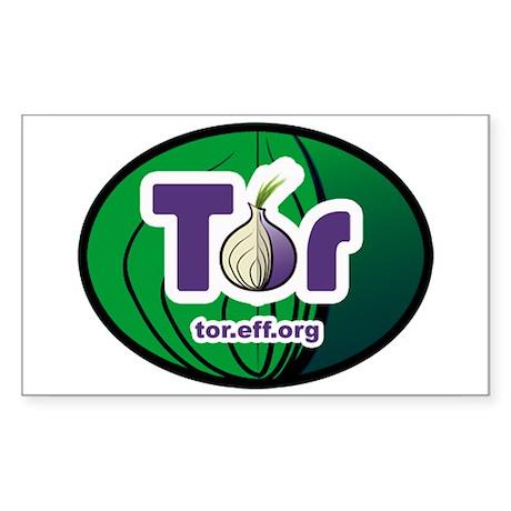 Tor Oval Sticker