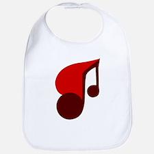Musical Heart Bib