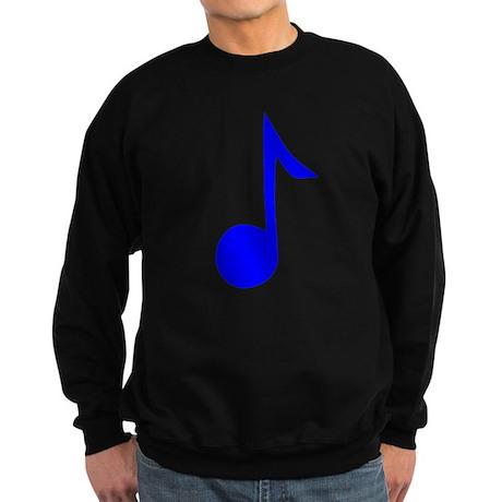 Blue Eighth Note Sweatshirt