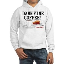 Twin Peaks Damn Fine Coffee Hoodie