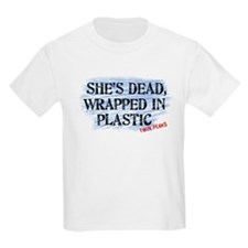 Shes Dead Wrapped In Plastic Twin Peaks T-Shirt