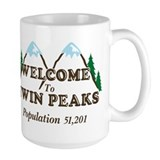 Twin peaks Large Mugs (15 oz)