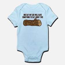 Twin Peaks Log Something To Say Body Suit