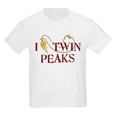 I Love Twin Peaks Locket T-Shirt