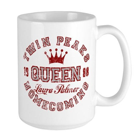 Retro Twin Peaks Homecoming Queen Mug