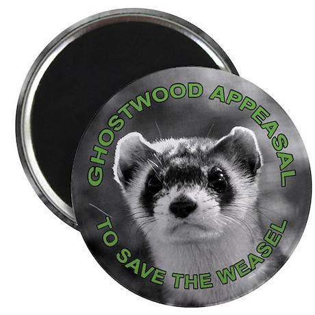 Appease The Pine Weasel Twin Peaks Magnet