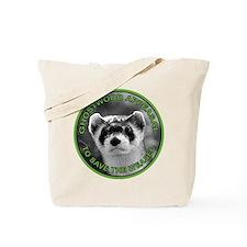 Pine Weasel Twin Peaks Tote Bag
