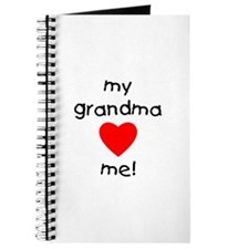 My grandma loves me Journal