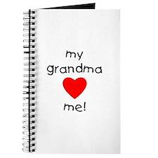 My grandma loves me Journal