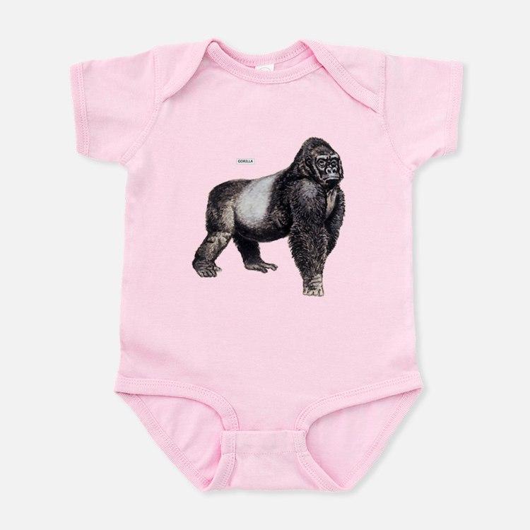 Gorilla Ape Animal Infant Bodysuit