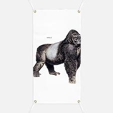 Gorilla Ape Animal Banner
