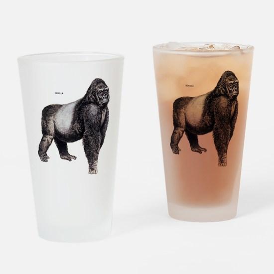 Gorilla Ape Animal Drinking Glass