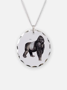 Gorilla Ape Animal Necklace