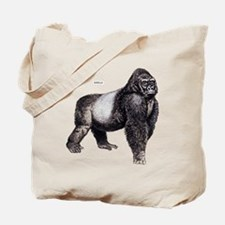Gorilla Ape Animal Tote Bag