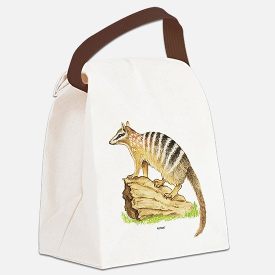Numbat Banded Anteater Canvas Lunch Bag