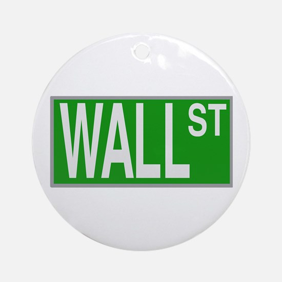 Wall St Ornament (Round)