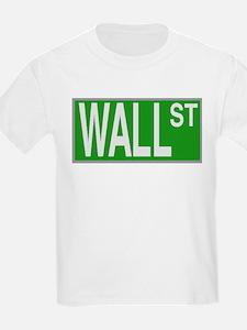 Wall St Kids T-Shirt
