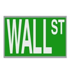 Wall St Postcards (Package of 8)