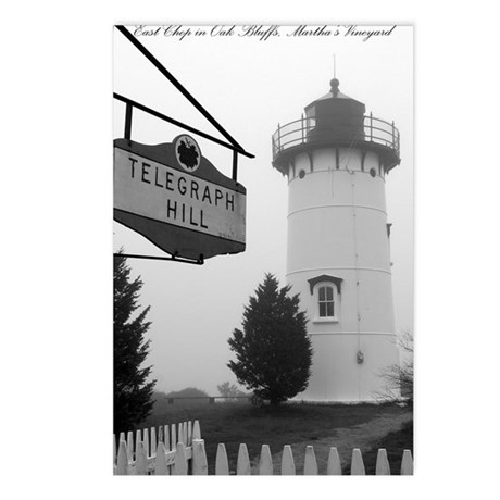 Edgartown Lighthouse, MV Postcards (Package of 8)
