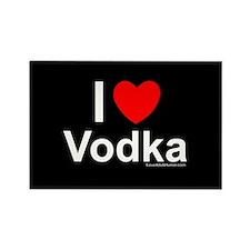 Vodka Rectangle Magnet