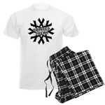 Melanoma Cancer Sucks Men's Light Pajamas