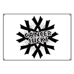 Melanoma Cancer Sucks Banner
