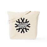 Melanoma Cancer Sucks Tote Bag