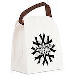 Melanoma Cancer Sucks Canvas Lunch Bag