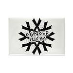 Melanoma Cancer Sucks Rectangle Magnet
